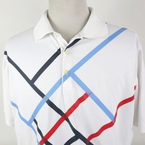 Nike Golf Dri Fit XL Polo Shirt Tour Performance